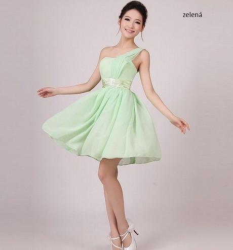 Krátké šaty pro družičky - skladem, S