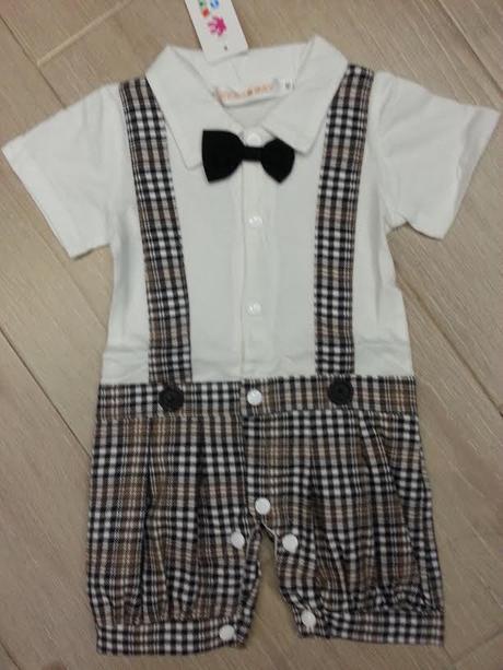 Letní dětský oblek, 80