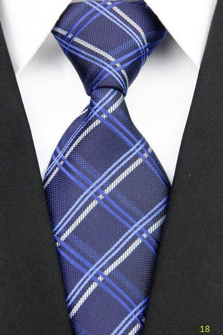 Modré kravaty - různé druhy,