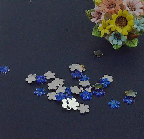 Modré kytčky - skladem,