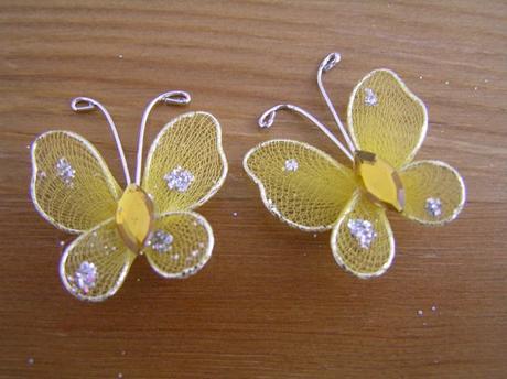 Motylci - zlata,