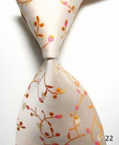 Oranžové kravaty - různé druhy,