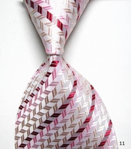 Růžové kravaty ,