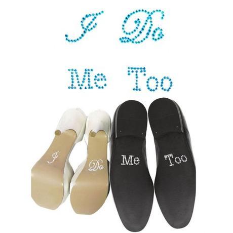 Samolepky na boty pro nevěstu a ženicha, 38