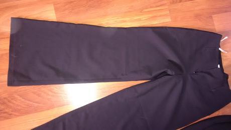 černé společenské kalhoty, 38