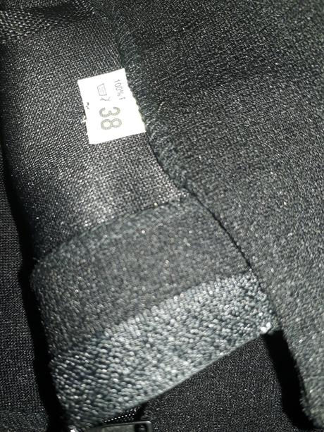 dámské společenské kalhoty na gumu, 38