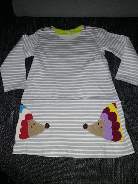 pruhované šaty, vel 6 let, 116