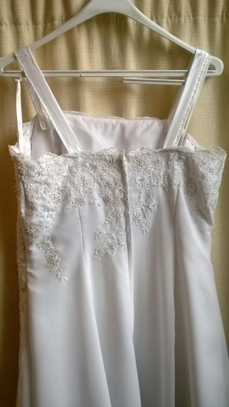 Svadobne šaty veľ.46, 46