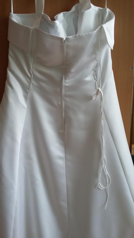 Svadobne šaty veľ.48-50, 48