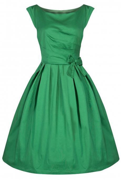 Zelené šaty s mašlou d835106695