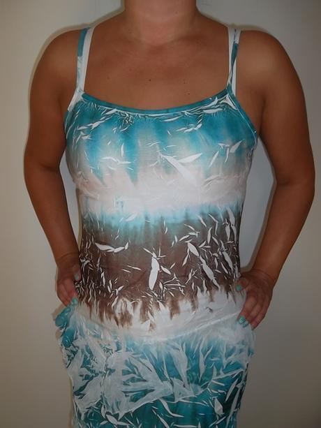 Kostýmek sukně+top - elastický vel.38-40., 38