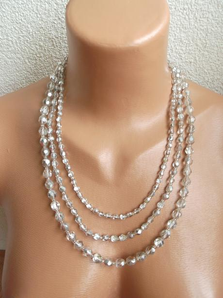 Trojradový náhrdelník,