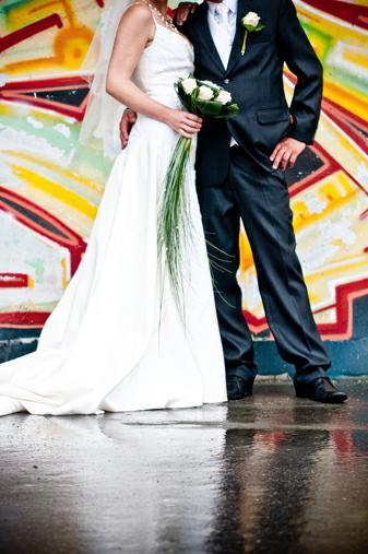 Svatební šaty šampaň s výstřihem, 38