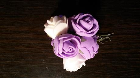 Pěnové růže malé,