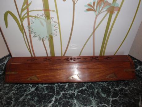 Dekorace-Krabička-Dóza na vonné tyčinky-Aroma,