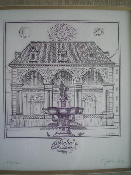 Obraz grafika J.Herčík,
