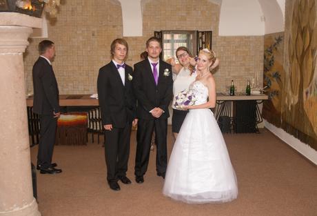 svatební šaty s-m, 34
