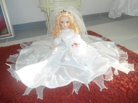 svatebni ozdoba na auto panenka,