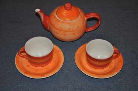 Přátelská čajová souprava,