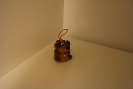 Keramický zvoneček,