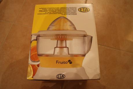 Odšťavňovač citrusů - ETA,