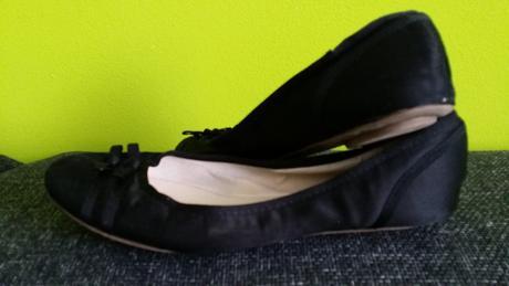Cierne balerinky s maslickami, 41
