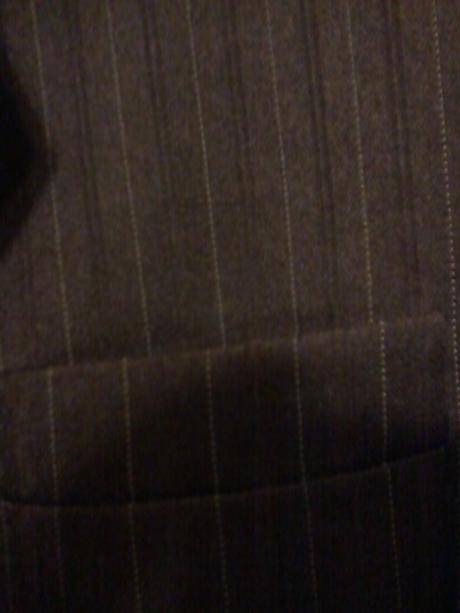 Pánsky oblek so zelenym vzorom 42-44, 42