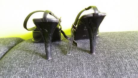 Prave kožené spoločenské topánky , 40