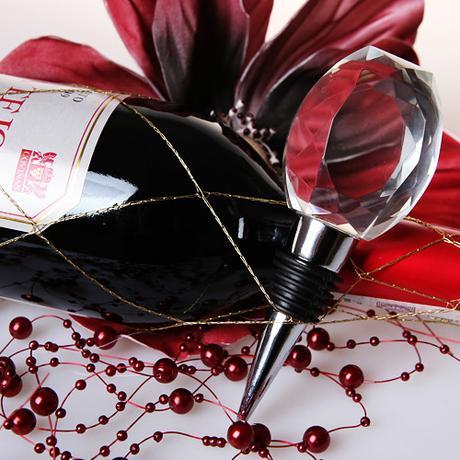Kryštálová zátka na víno ,