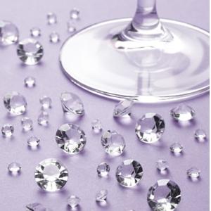 Ozdobné diamantiky 100 ks v balení,