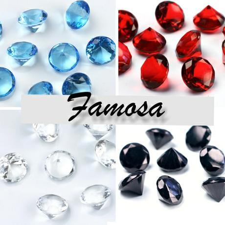 Ozdobné diamantiky -veľké- 10 ks v balení ,