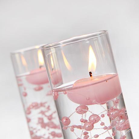 Plávajúce sviečky 25 kusov - veľa farieb na výber ,