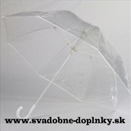 Priesvitný dáždnik,