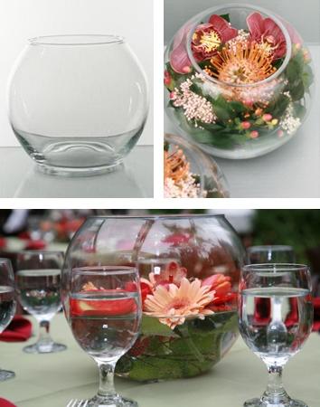 """Váza """"guľa"""" malá 12 cm ,"""