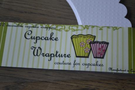 Cupcake wrapture 23ks bílé a modré,