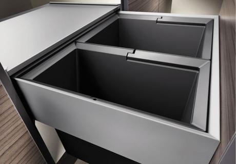 Blanco Select 60/2 - výsuvný kôš na odpadky ,