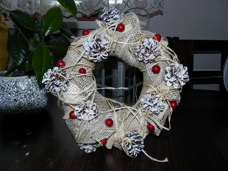 Malý prírodný vianočný ,