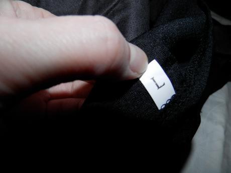 Moderné sexi čierne šaty s čipkou a koženkou, 40
