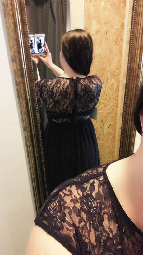 Tmavomodré šaty značky Little Mistress, 44