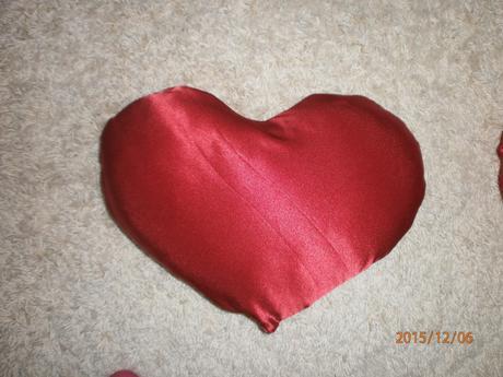Vankúše 2x srdce,