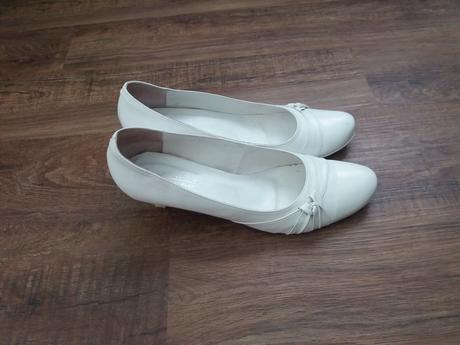 Svatební lodičky pro ženu s velkýma nohama, 45