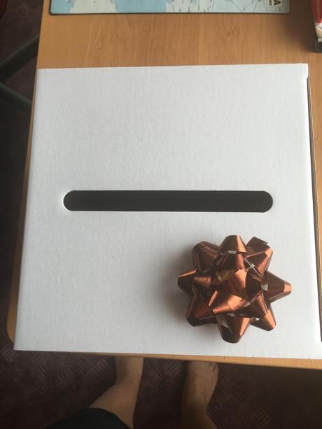Krabice na svatební dary,