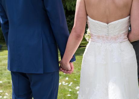 Svatební šaty Sottero&Midgley s krajkovou vlečkou, 40