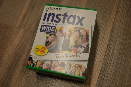 Fujifilm Instax Wide film 20ks,