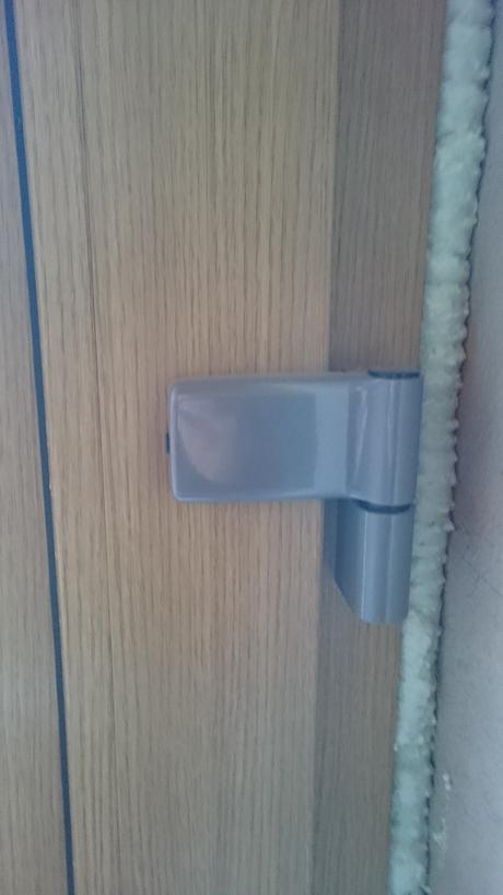 Plastové dveře / 910x2085 Pravé,