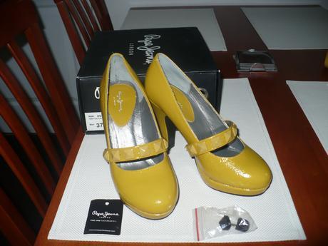 Žluté lodičky Pepe Jeans, 37