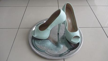 Mátově zelené botičky, 38
