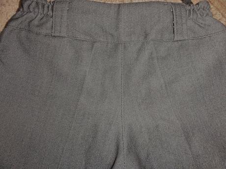 Elegantné nohavice (dĺžka 83 cm), 140