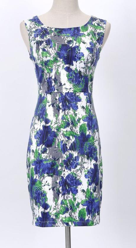 Kvetinové šaty S/M, 36