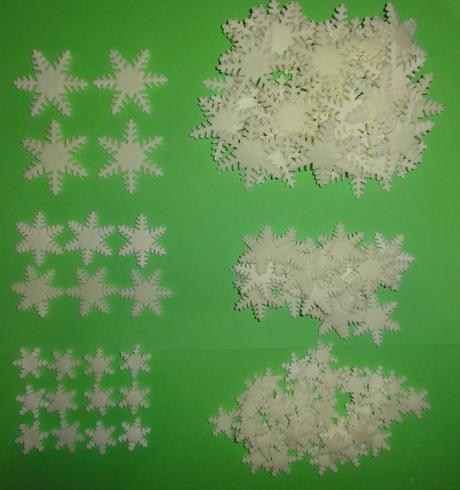 Snehové vločky,